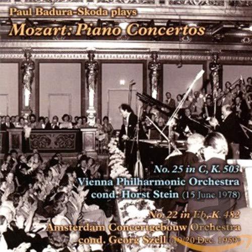 Paul Badura Skoda - Piano Concertos, Nos. 25 & 22