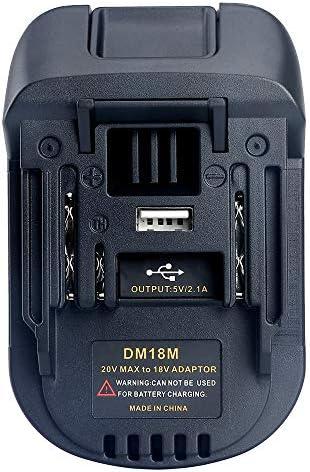 Ridgid to milwaukee battery adapter