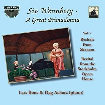 Siv Wennberg: A Great Primadonna, Vol. 7