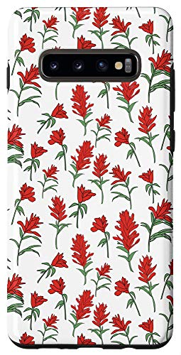 Galaxy S10+ Indian Paintbrush Wildflower Case