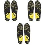 BERGAL Einlegesohle Fußbett Sneaker Gr. 36-46 3er Pack, Schuhgröße:EUR 44