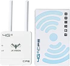 JK Vision Jio Router WiFi 4G Dongle Device, Support All sim Cards, Speed Upto 150Mbps, Support DVR, NVR, WiFi Camera (Airt...
