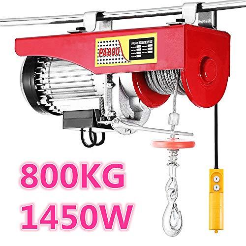 Turefans Polipasto eléctrico, 1450 W, (400 kg / 800 kg