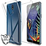 LK Case for LG K40 + [1 x Tempered Glass Screen Protector],