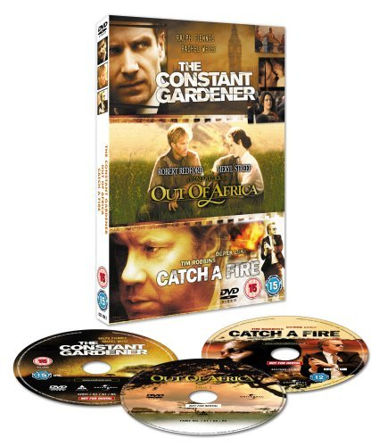 The Constant Gardener/Out of Africa/Catch a Fire [Import anglais]