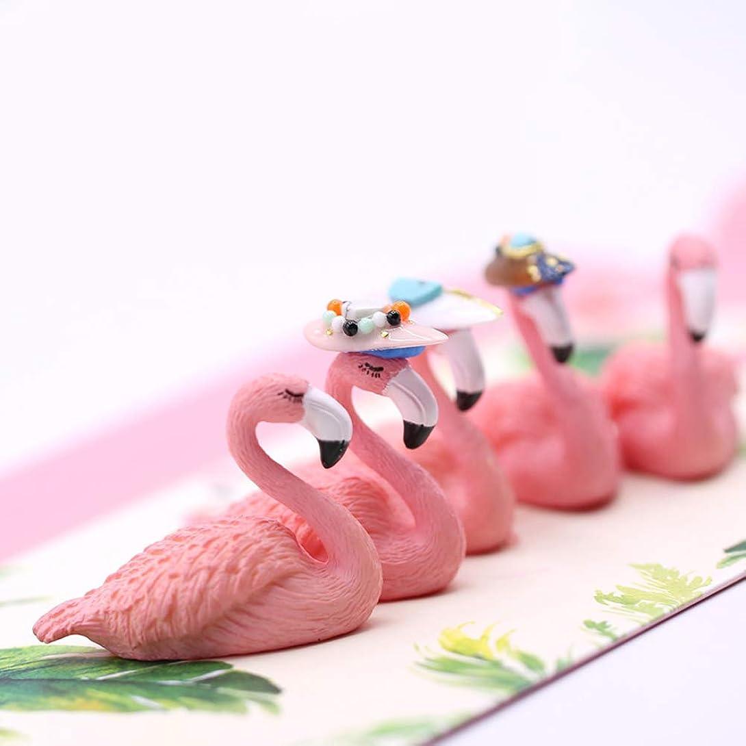 カフェ自然いっぱいslQinjiansavネイルアート&ツール練習スタンドかわいい漫画白鳥のマニキュホルダー偽の先端を示す棚の練習スタンド