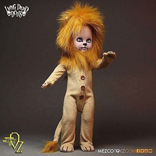 calidad fantástica Living Living Living Dead Dolls Lost In Oz Teddy as The Lion 10  Doll by Living Dead Dolls  grandes precios de descuento