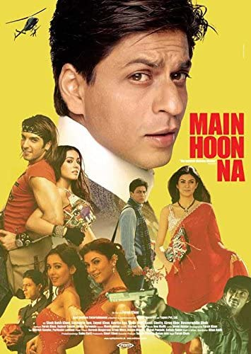 Amazon.com: Main Hoon Na POSTER Movie (11 x 17 Inches - 28cm x 44cm) (2004)  (German Style A): Posters & Prints