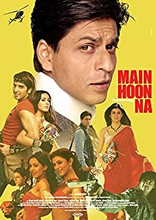 Main Hoon Na POSTER Movie (11 x 17 Inches - 28cm x 44cm) (2004) (German Style A)