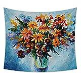 nobranded Tapiz clásico Tapiz Vincent Van Gogh Tapiz de Pintura al óleo Tapiz Mandala Tapiz para Dormitorio For 100 * 70 cm Cepillado *