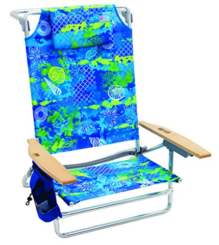 Rio Beach Big Kahuna Extra Large Folding Beach Chair - Baja Boho Palms