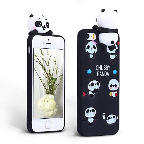 Mosoris Cover per iPhone 5 / 5S Nuova 3D Cartone Animato Modello Case