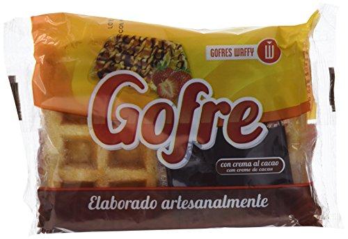 Waffy Gofre con Crema de Cacao - 140 gr - [Pack de 7]