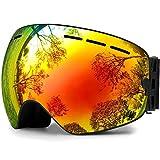 Ski Goggles, Snowboard Goggles UV Protection, Snow Goggles...