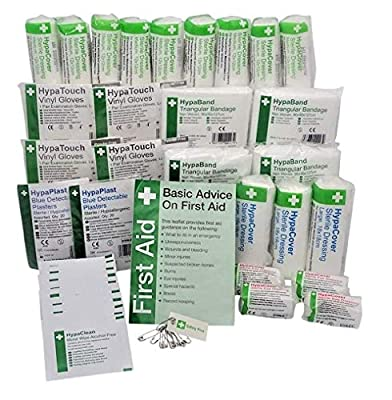 Safety First Aid HSE Catering Kit Refill (1-20 Persons) by Safety First Aid Group