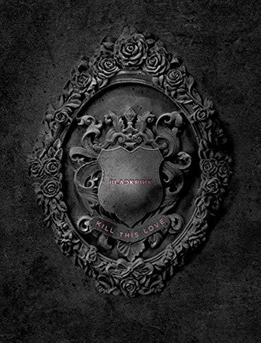 BlackPink Kill This Love 2nd Mini Album (Black Version) CD+Poster On Pack+Photobook+4...