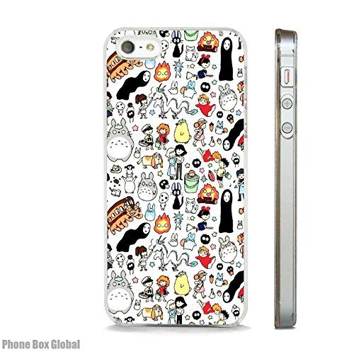 PHONE BOX GLOBAL Studio Ghibli My Neighbor Totoro - Cover Trasparente per Apple iPhone 6 Plus/6S Plus