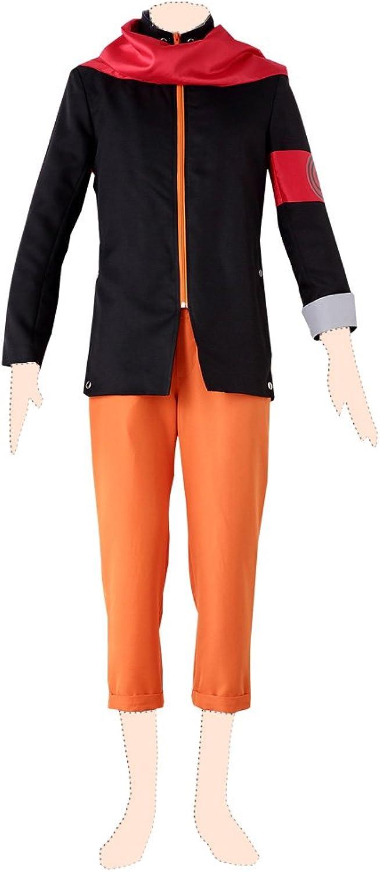 buscando agente de ventas NARUTO cosJugar costume Naruto Uzumaki Ver.8 Clothes Clothes Clothes Kid Small  barato y de alta calidad