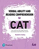 Verbal Ability and Reading Comprehension for CAT| Fourth Edition| By Pearson