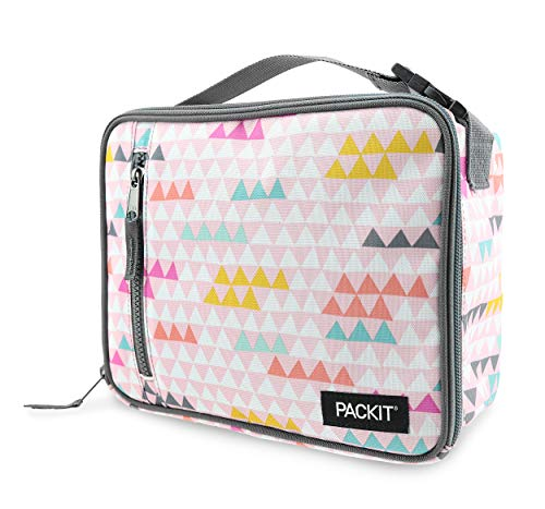 PackIt Freezable Classic Lunch Box, Paper Triangles