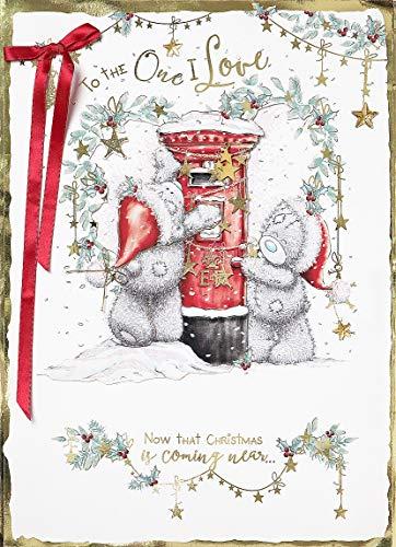 Cesto Me to You boxed mano enorme XXL multi pagina d' auguri di Natale One i Love