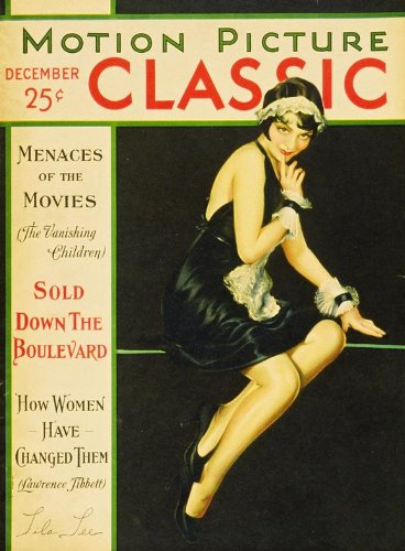 Lila Lee Movie Poster (27 x 40 Inches - 69cm x 102cm) (1901) Motion Picture Classic Magazine Cover 1920's -