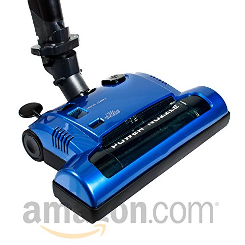 Ultra Clean Advanced Electric Powerhead with Integrated Wand for Central Vacuum Systems (Blue)