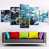 sanzx Kunst Wanddekoration Malerei 5 Board Hd Bilder