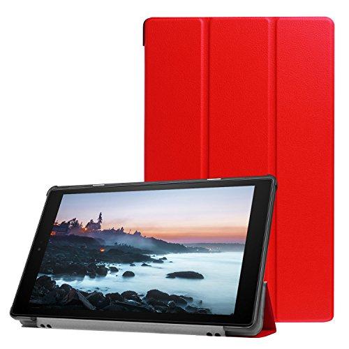 Lobwerk Hülle für Amazon Fire HD10 10.1 2017/2019 Tablet Smart Cover Slim Hülle Etui Tasche