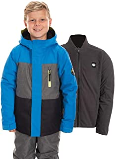 686 Boy's Smarty 3-in-1 Insulated Jacket - Waterproof Ski/Snowboard Winter Coat