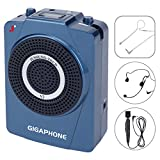 GIGAPHONE V2 40W Portable Loud Voice Amplifier with Microphones