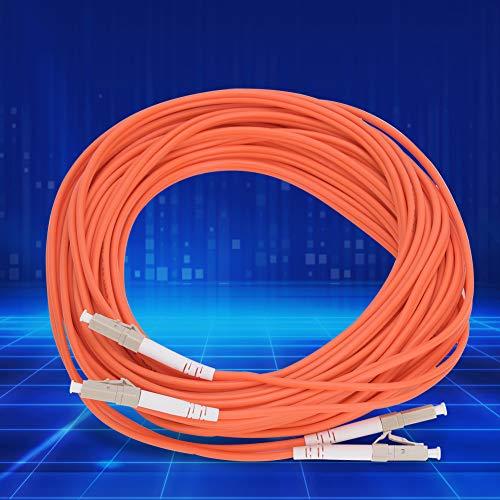 Virola LC-LC-MM-62.5/125-2.0 del cable de fibra óptica multimodo de 10 metros para...