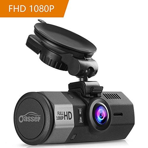 Oasser Dash Cam Telecamera per Auto WDR Full HD 1080P...