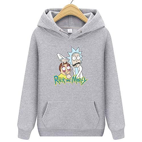 HNOSD 2019 New Rick Morty Hooded Männer Frauen Hoodies Sweatshirt Männer Skateboards Männlich Baumwolle Hooded Sweatshirt