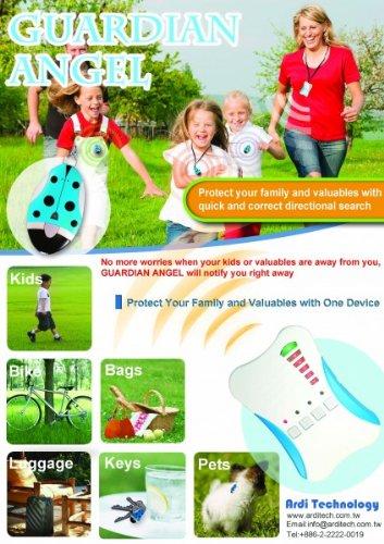 Guardian Angel 2 Kid's Tracker Child finder Locator Alarm Protection Security Kinderfinder Abbildung 2