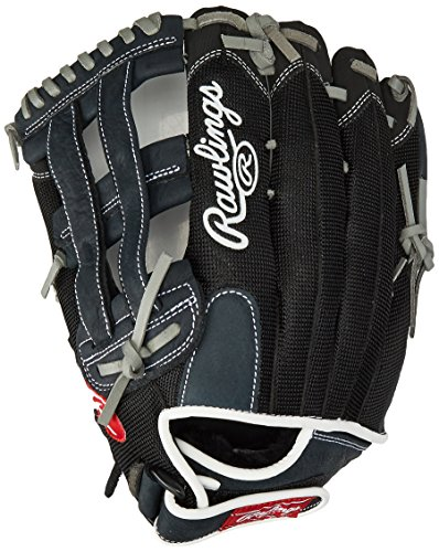 Rawlings Renegade Series Baseball Glove, Right Hand, Slow Pitch Pattern, Basket-Web, 12 Inch