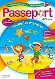 Passeport Cahier de Vacances 2020 - De la MS à la GS - 4/5 ans