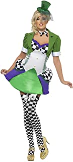 Smiffys Fever Women's Miss Mad Hatter Costume (Medium, Green)