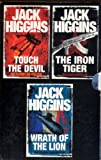 Jack Higgins Box Set: Wrath of the Lion / Iron Tiger / Touch the Devil