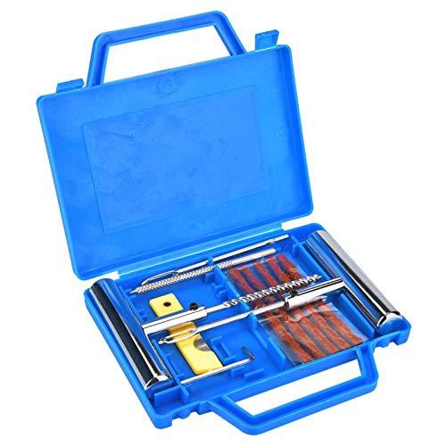 Kit de Reparación para Neumáticos Pesados, Kit Repara Pinchazos Pequeño Reparación de...