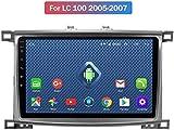 Todos Netcom CJK 4G LTE Android 8.0 GPS para Toyota Land Cruiser GX 100 LC 100 de DVD de navegación para automóviles | Volante | 2DIN,WiFi, 1 + 16g,Opción 1