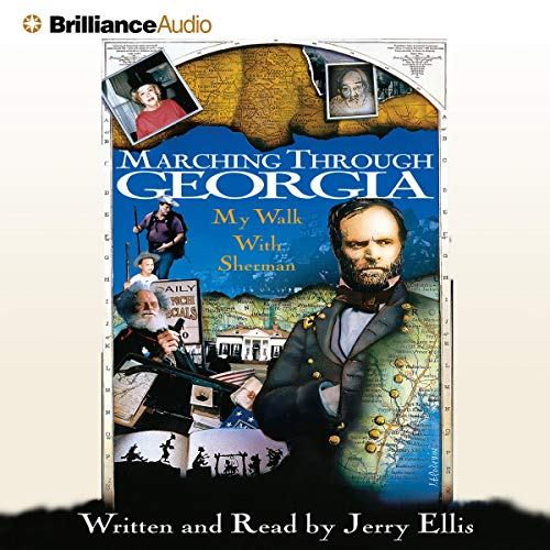 Marching Through Georgia audiobook cover art