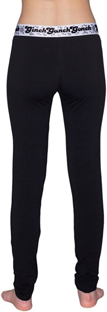 Ginch Gonch Womens Solid Long Johns