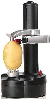 皮むき器 自動電気携帯用自動皮むき機マルチツールリンゴやジャガイモなどの果物や野菜を切るのに適しています