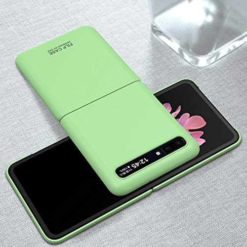 Case for Samsung Galaxy Z Flip Case Ultra-Thin Shockproof Protective Phone Case Cover for Samsung Galaxy Z Flip - Matcha Green