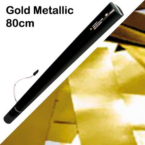 Showtec elektronische Konfetti Kanone 80cm, gold-metallic