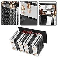 実用的なDIY冷蔵庫クーラー、240W半導体冷凍、冷蔵庫の家庭用熱放散のための信頼性の高い安定した冷蔵庫の熱放散 [クリスマスプレゼント、ニューイヤーギフト]