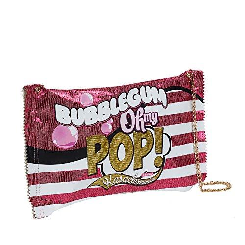 Oh My Pop! Bubblegum-Bolso Bubblegum, Rosa