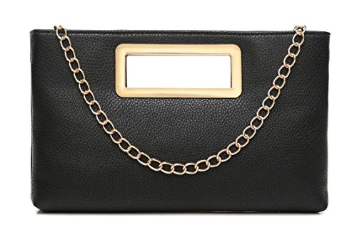 Clutch Purse for Women Evening Party Tote with Shoulder Chain Strap Lady Handbag