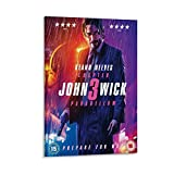 CHAOZHE Pop-Filmposter John Wick 3 Keanu Reeves,